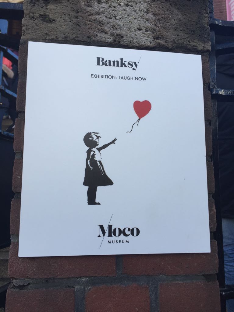 Banksy at Moco - There Is Always More To Say